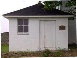 EEC Milk House with Plaque