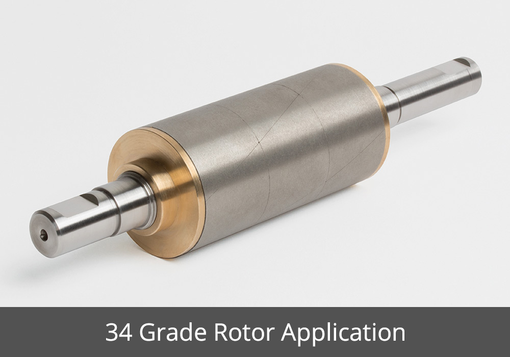 Grade Rotor Application